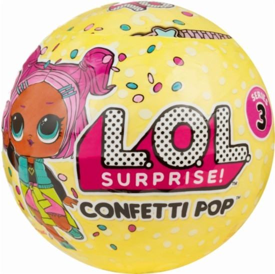 BONECA LOL SURPRISE CONFETTI POP - SERIES 3