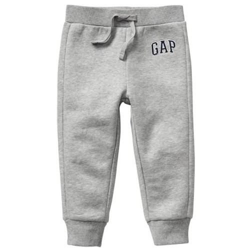 Calça Gap Moletom Grey Baby Boy