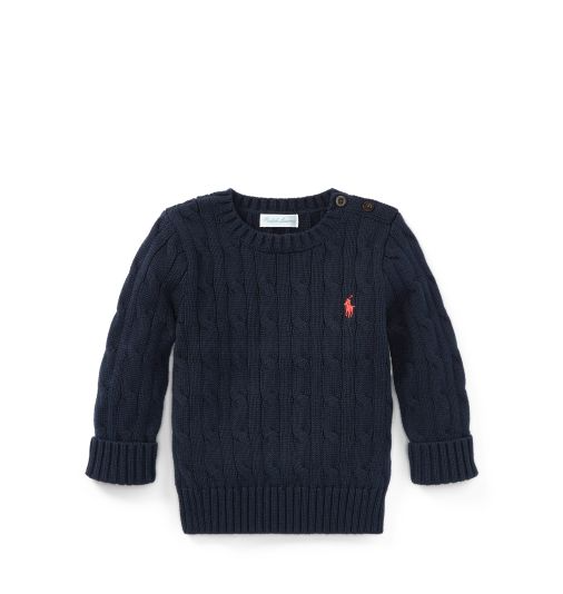 SWEATER MANGA LONGA RALPH LAUREN NAVY