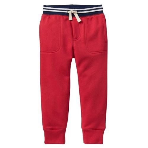 Calça Gap Moletom Infantil Modern Red