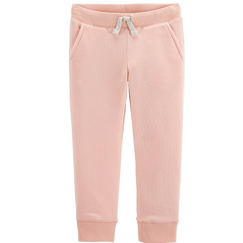 CALÇA MOLETOM FLEECE OSHKOSH ROSA