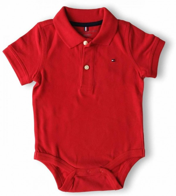 BODY TOMMY HILFIGER POLO RED