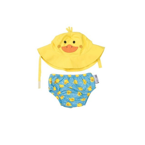 KIT PRAIA E PISCINA ZOOCCHINI DUCK COM FPS 50+