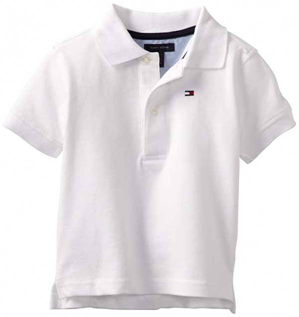 Camisa Polo Tommy Hilfiger White