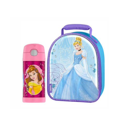 KIT LANCHE THERMOS FOOGO PRINCESAS