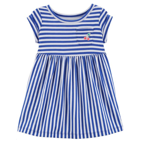VESTIDO CARTER'S STRIPED CHERRY