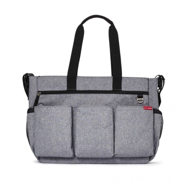 Bolsa Maternidade Skip Hop Duo Double Heather Grey