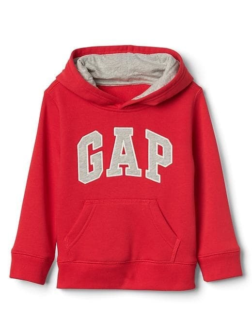 MOLETOM COM CAPUZ GAP RED