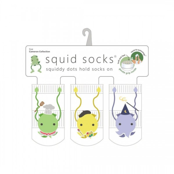 Kit Meia Squid Socks 3 Pares Cameron