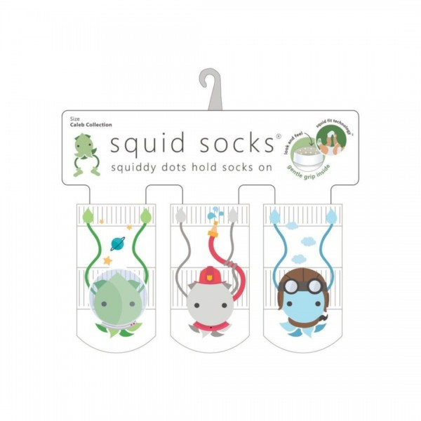 Kit Meia Squid Socks 3 Pares Caleb