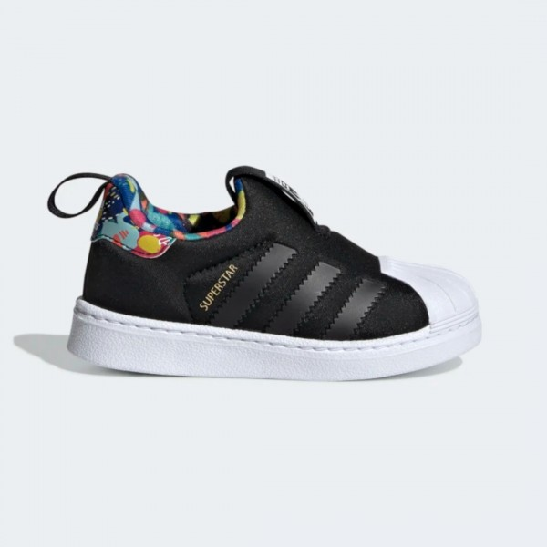Tênis Adidas Superstar 360 Floral Black