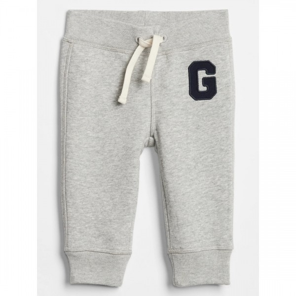Calça Gap Moletom Bear Grey