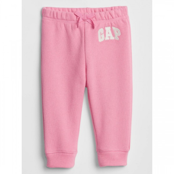 Calça Gap Moletom Bear Pink
