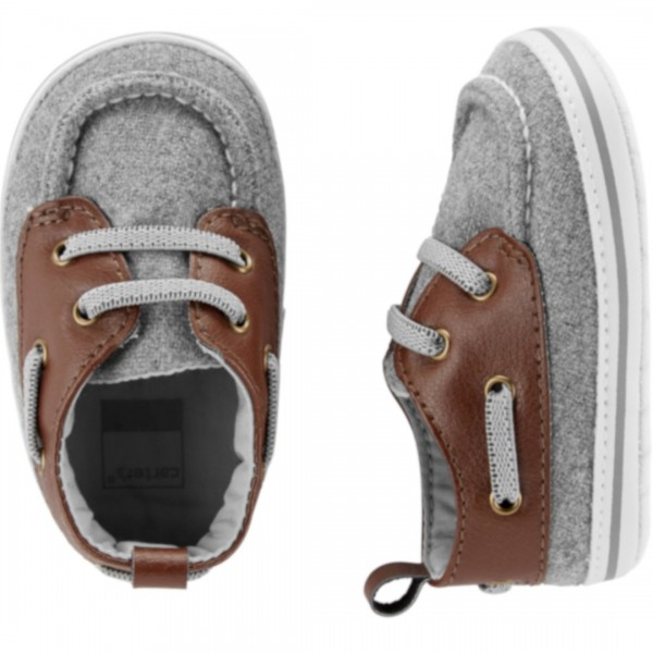 Tenis Carter's Grey Brown