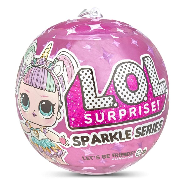 Boneca Lol Suprise Sparkle Series