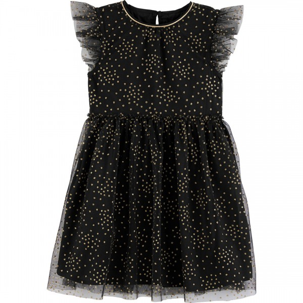 Vestido OshKosh Polka Dot Black
