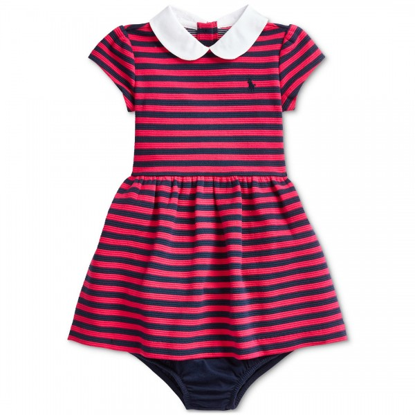 Vestido Ralph Lauren Striped Navy