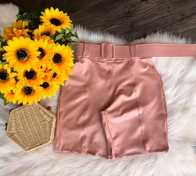 SHORT CIRRÊ POWER 401147 ROSE