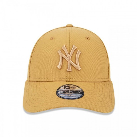 05b294cc5389a BONÉ NEW ERA INFANTIL ABA CURVA 940 NEW YORK YANKEES - KAKI