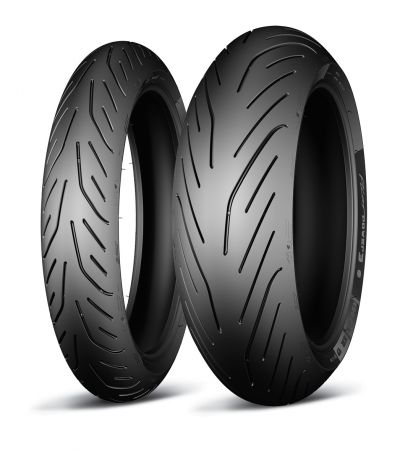 Pneu Michelin Pilot Power 3 120/70R17 e 180/55R17 - (Par)