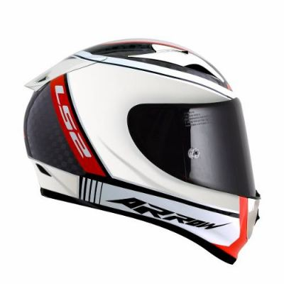 Capacete LS2 FF323 Arrow Carbon Chorome