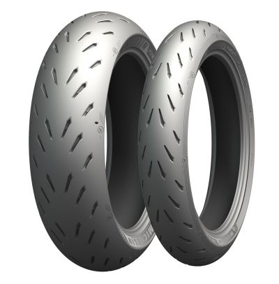 Pneu Michelin Power RS 120/70R17 e 180/55R17 (Par)