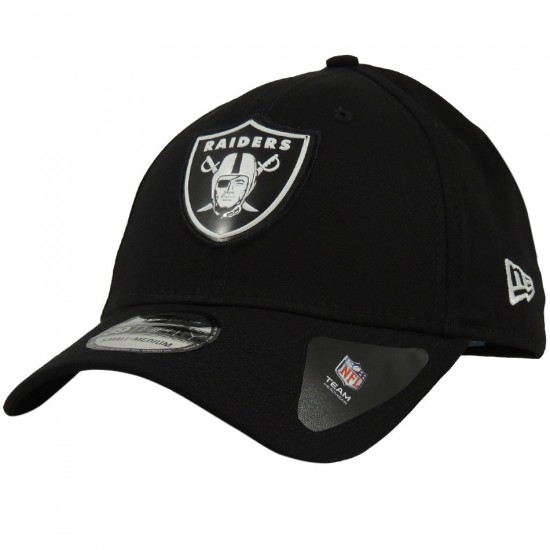 47844c5b2f Boné New Era Aba Curva Oakland Raiders NFL 39THIRTY - Preto - Loja ...