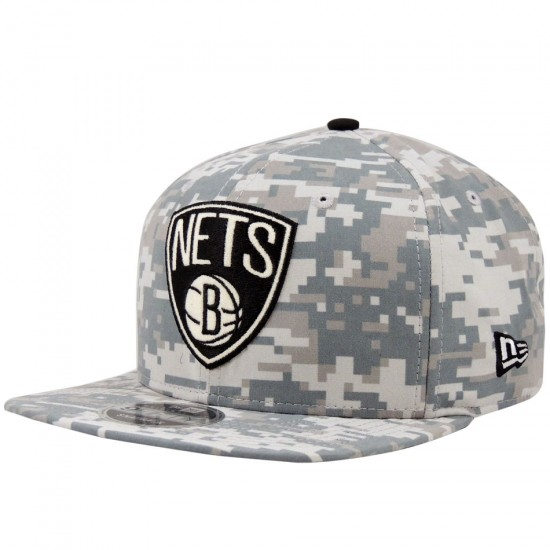 Boné New Era Snapback Brooklyn Nets NBA Digi Camo - Loja Player a00e413140d