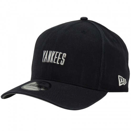Boné New Era Aba Curva New York Yankees MLB 9FORTY - Marinho - Loja ... c1cf404b2fb