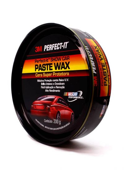Cera Automotiva Super Protetora 200g Linha Purple - Paste Wax - 3M