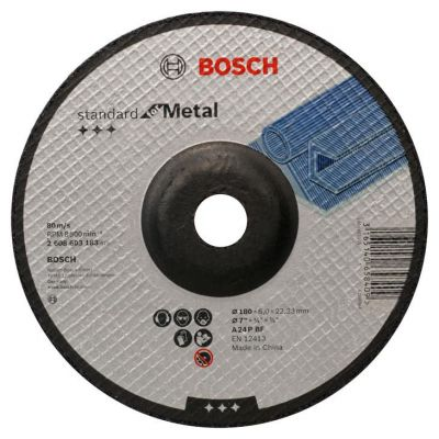 Disco de Desbaste Standard for Metal 7'' 180x6.0x22 Bosch
