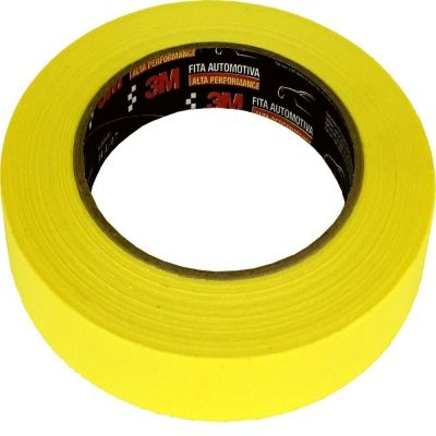 Fita Crepe Automotiva 3M Alta Performance - 18mm x 40m