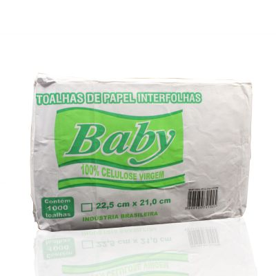 Papel interfolha Baby