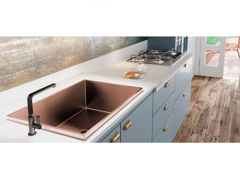 Cuba Rose Gold Primaccore Semi Top Mount 600 (620x420x200mm) Debacco