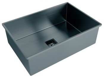 Cuba Black Matte Primaccore Semi Top Mount 600 (620x420x200mm) Debacco