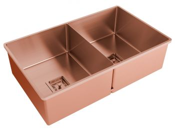 Cuba Dupla Rose Gold Primaccore Semi Top Mount (700x420x200mm) Debacco