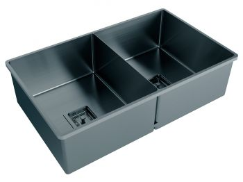 Cuba Dupla Black Matte Primaccore Semi Top Mount (700x420x200mm) Debacco