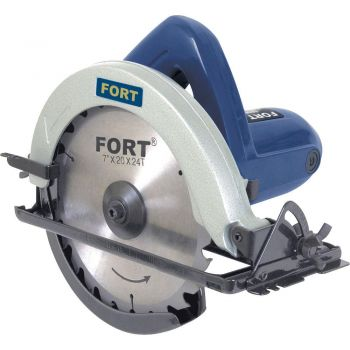 Serra Circular Fort FT-1008 - 180mm - 1050 Watts - 6000 RPM - 110v