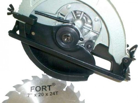 Serra Circular Fort FT-1008 - 180mm - 1050 Watts - 6000 RPM - 110v  - foto principal 1