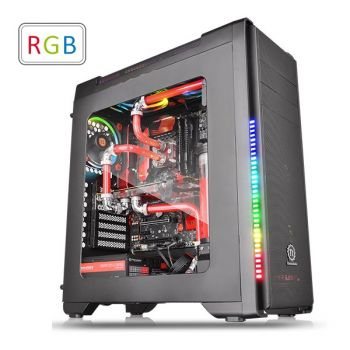 Gabinete TT Versa Thermaltake C21 RGB Black Window CA-1G8-00M1WN-00
