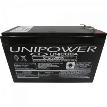 Bateria Selada UP12 COMPACT 12V/6A UNIPOWER