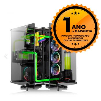 Gabinete Thermaltake TT CORE P90 TG BLACK/WALL MOUNT/SGCC CA-1J8-00M1WN-00