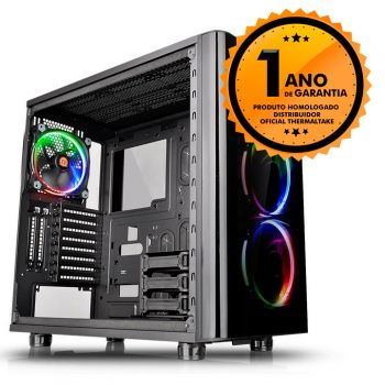 Gabinete Thermaltake TT VIEW 31 RGB BLACK WIN TEMPERED GLASS X 2 CA-1H8-00M1WN-01