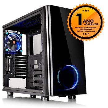 Gabinete Thermaltake TT VIEW 31 TG BLACK WIN TEMPERED GLASS X 2 CA-1H8-00M1WN-00