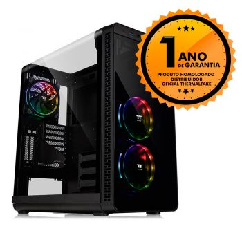 Gabinete Thermaltake TT VIEW 37 RGB PLUS BLACK WIN CA-1J7-00M1WN-01