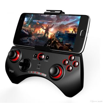 Controle Joystick Ípega PG9025 Bluetooth Wireless Smartphone Android Windows