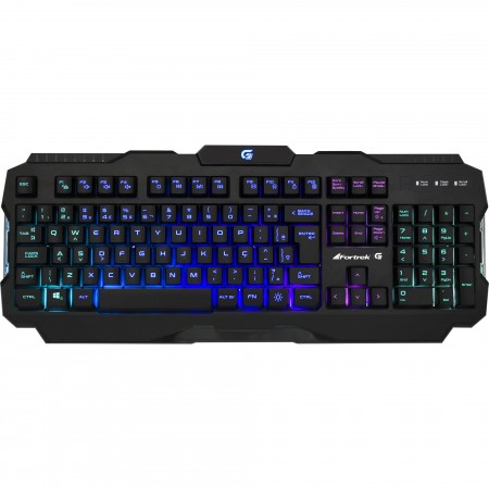 Teclado Gamer Fortrek K3 RGB Led Antighosting Multimídia Splash Proof  - foto principal 1