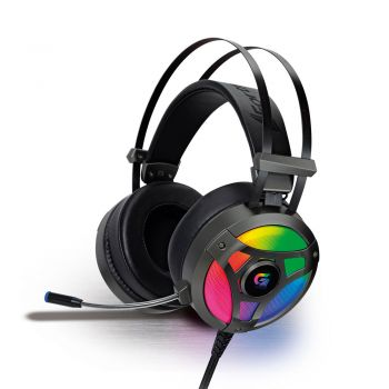 Fone de Ouvido Headset Gamer 7.1 Surround Fortrek G Pro LED RGB H1 Plus USB