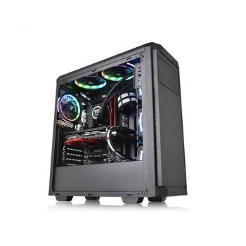 Gabinete Thermaltake TT V100 BLACK/NO WIN/SPCC