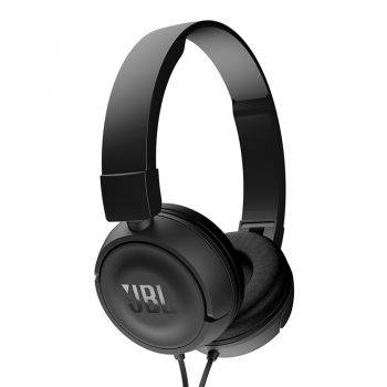Fone de Ouvido On Ear Headphone JBL com Microfone T450BLK Preto